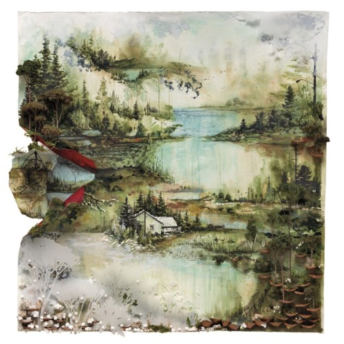 Bon Iver's Self Titled Album cover